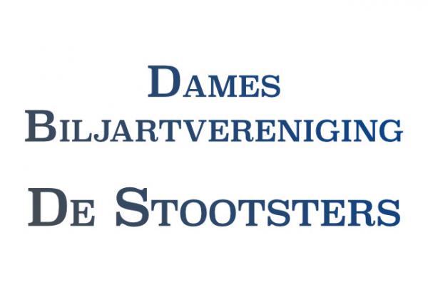 Damesbiljartvereniging de Stootsters